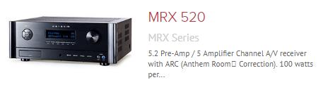 Anthem-mrx-520