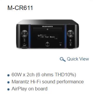 Marantz-Wireless-Music-system