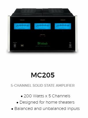 Mcintosh-mc205
